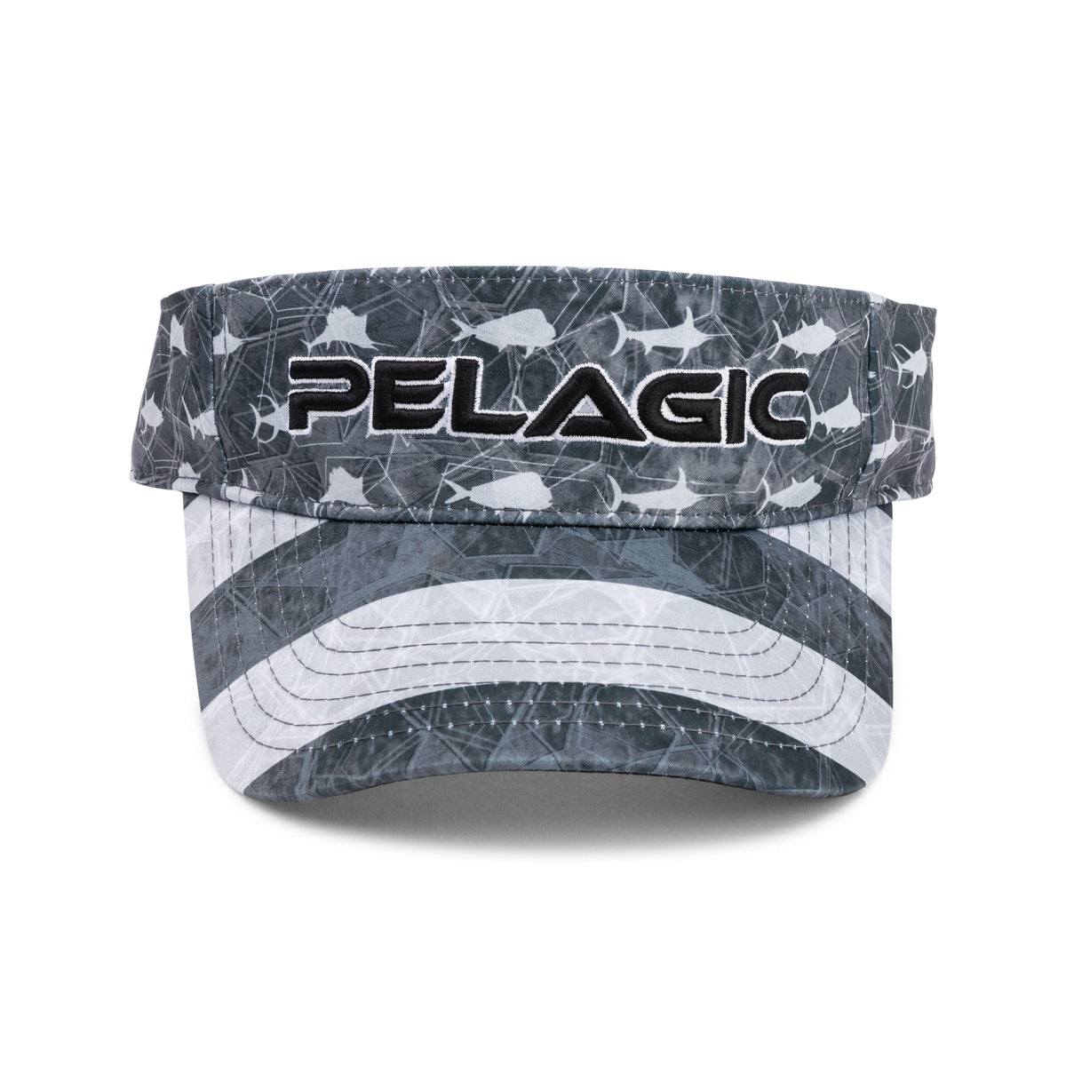 Performance Print Fishing Visor Big Image - 3
