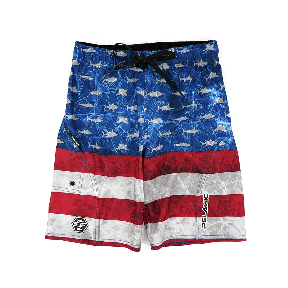 Sharkskin Boardshort - Kids Big Image - 1