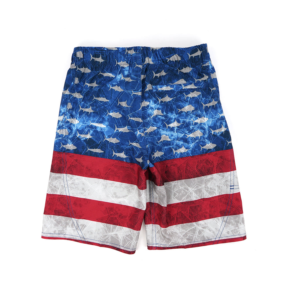 Sharkskin Boardshort - Kids Big Image - 2