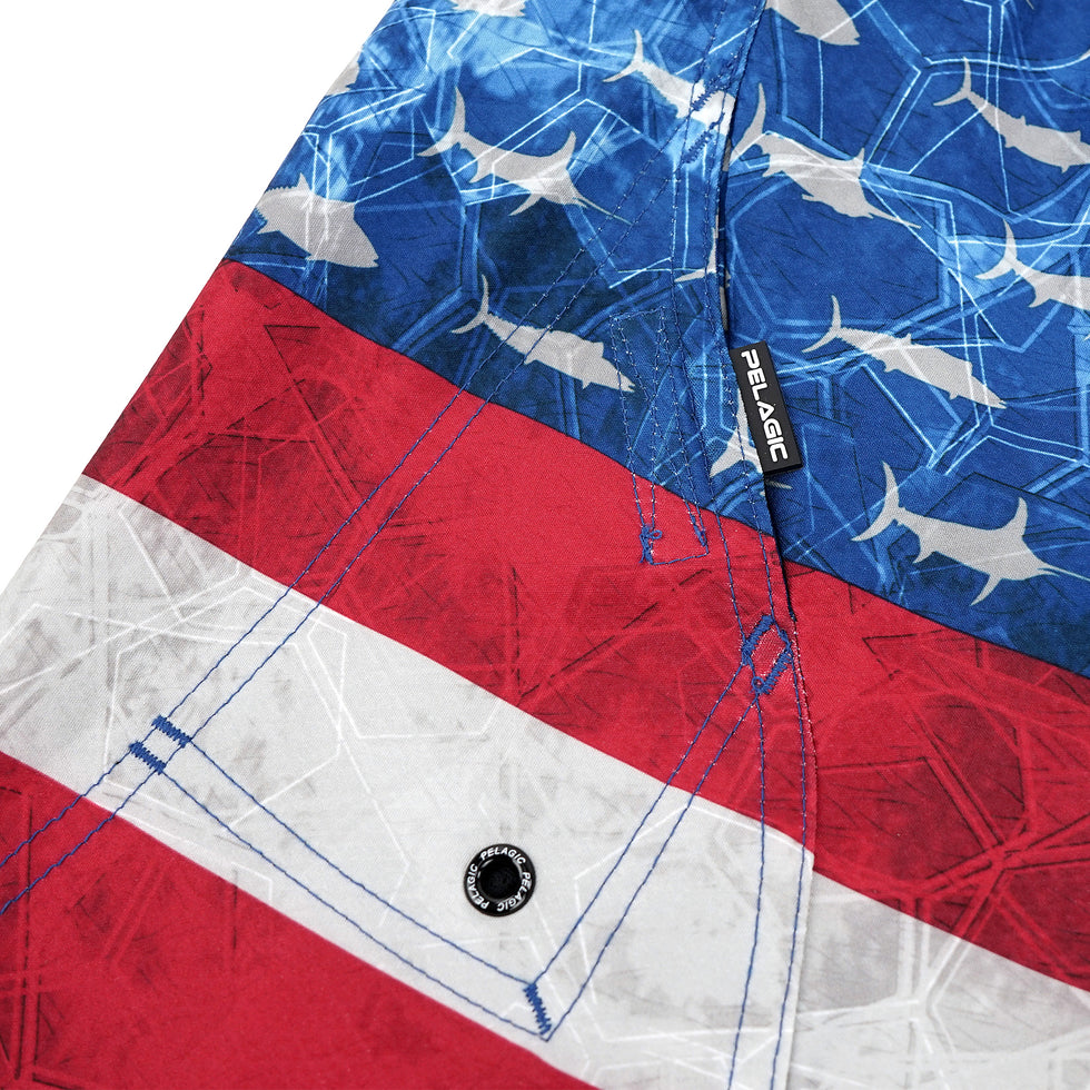 Sharkskin Boardshort - Kids Big Image - 6