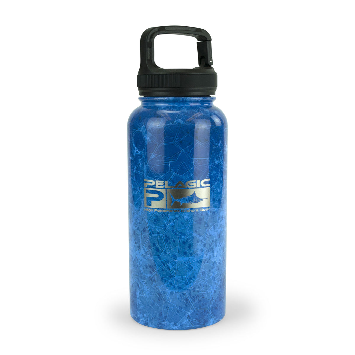 32oz Water Bottle - Dorado Hex Big Image - 1