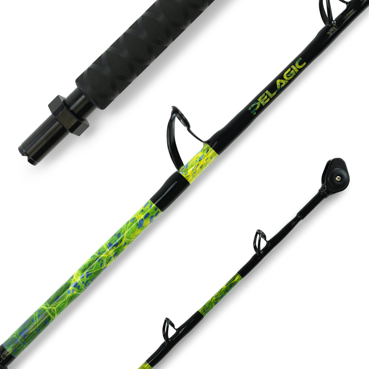 "Custom 6'4"" 50lb Pitch Rod Big Image - 1"