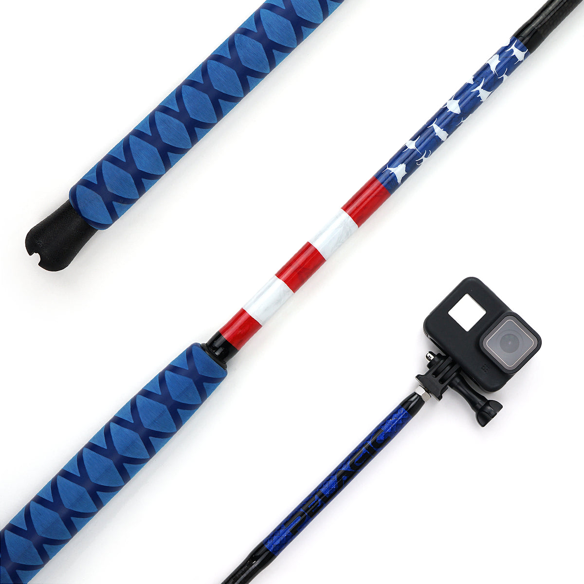 Custom 6-ft. GoPro Camera Stick Big Image - 1