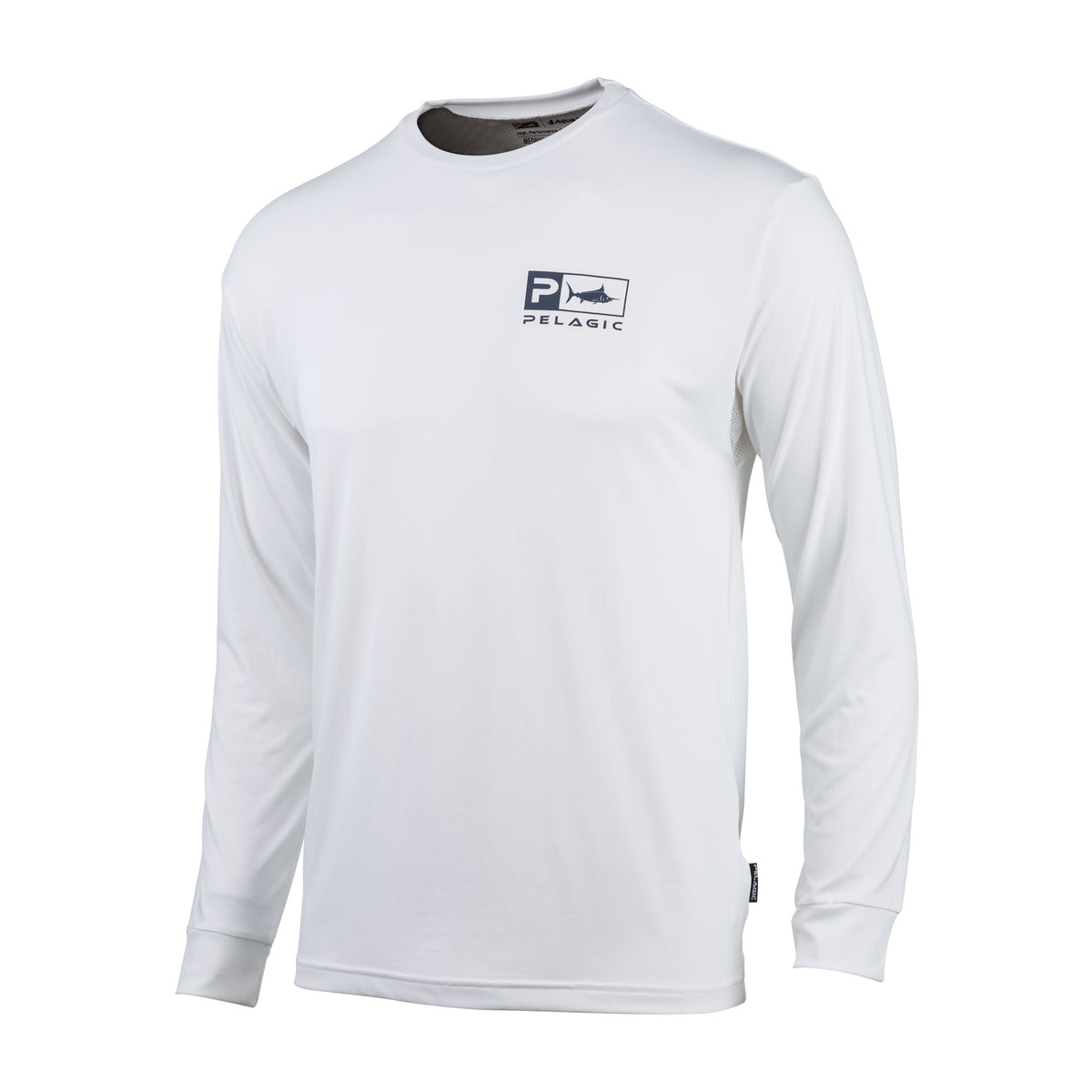 Aquatek Icon Long Sleeve Performance Fishing Shirt Big Image - 2