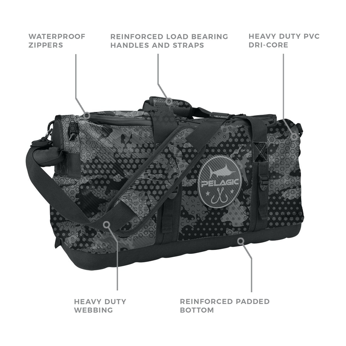50L Aquapak Duffel Bag Big Image - 2