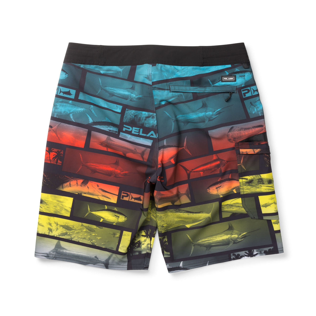 Blue Water Fishing Shorts Big Image - 2