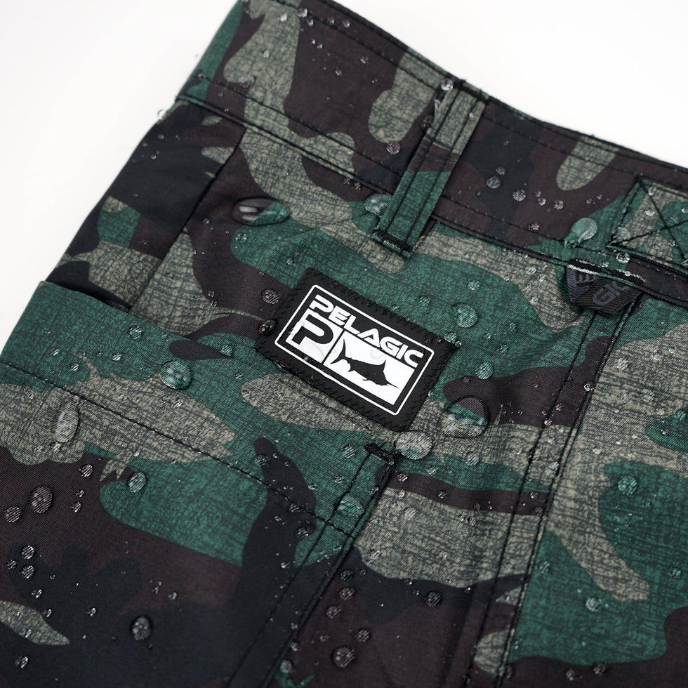 Socorro Hybrid Camo Fishing Shorts Big Image - 7