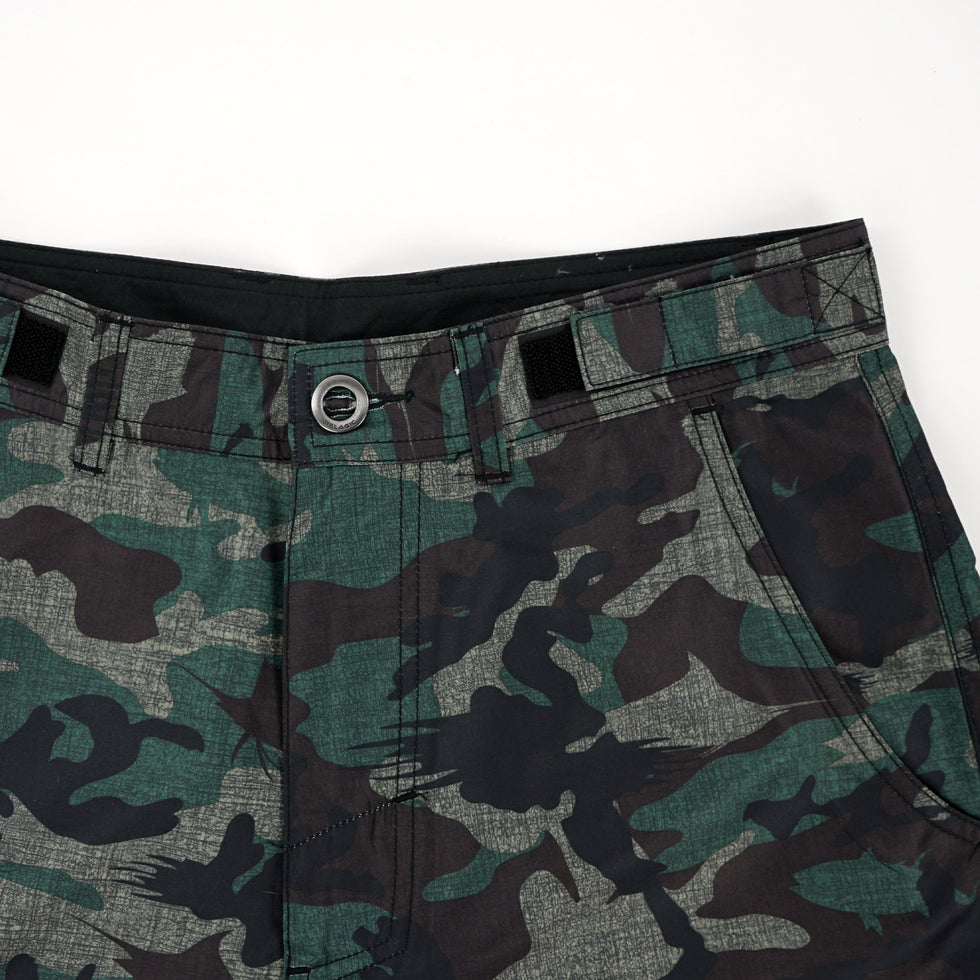 Socorro Hybrid Camo Fishing Shorts Big Image - 6