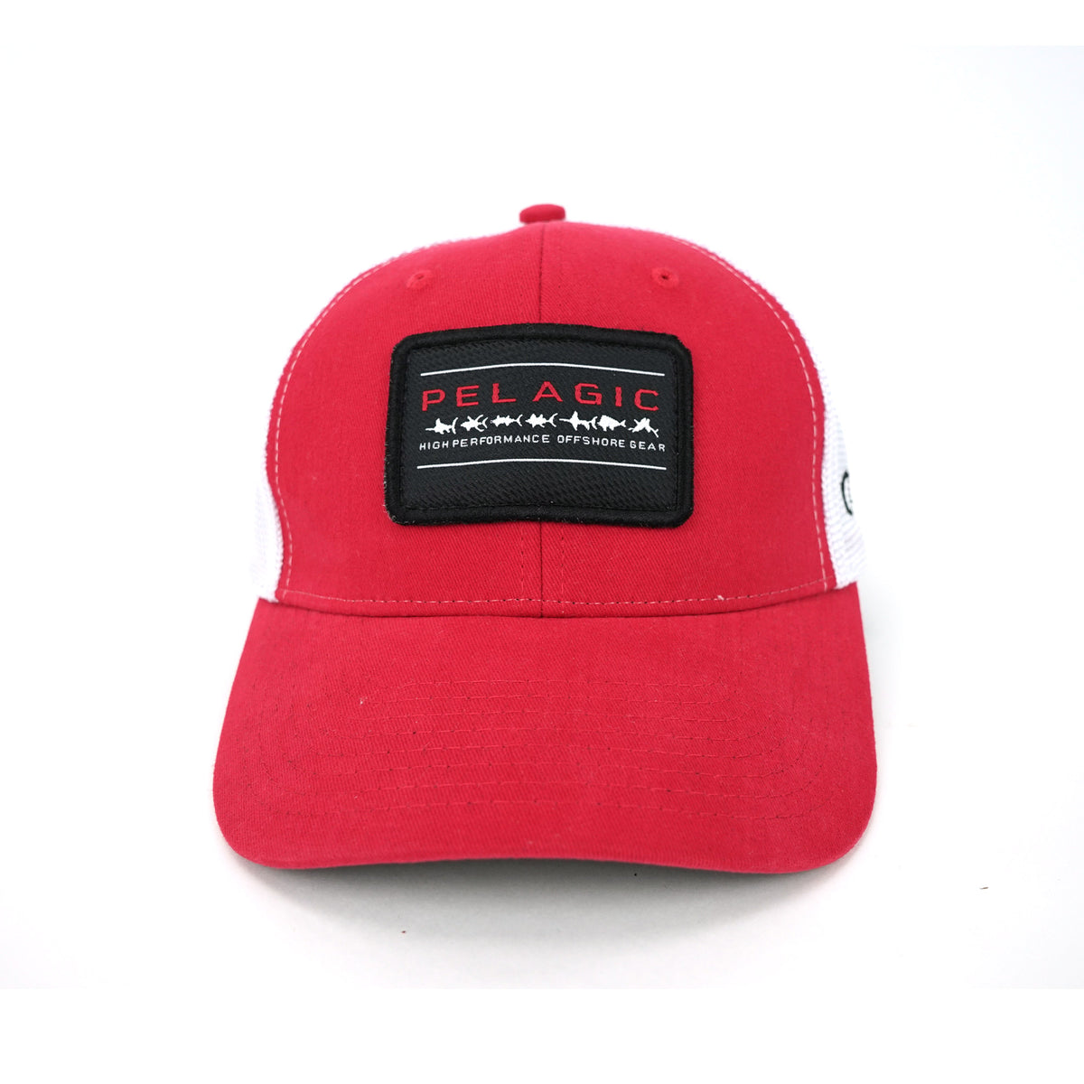 Costa Rica Patch Offshore Hat Red Big Image - 3