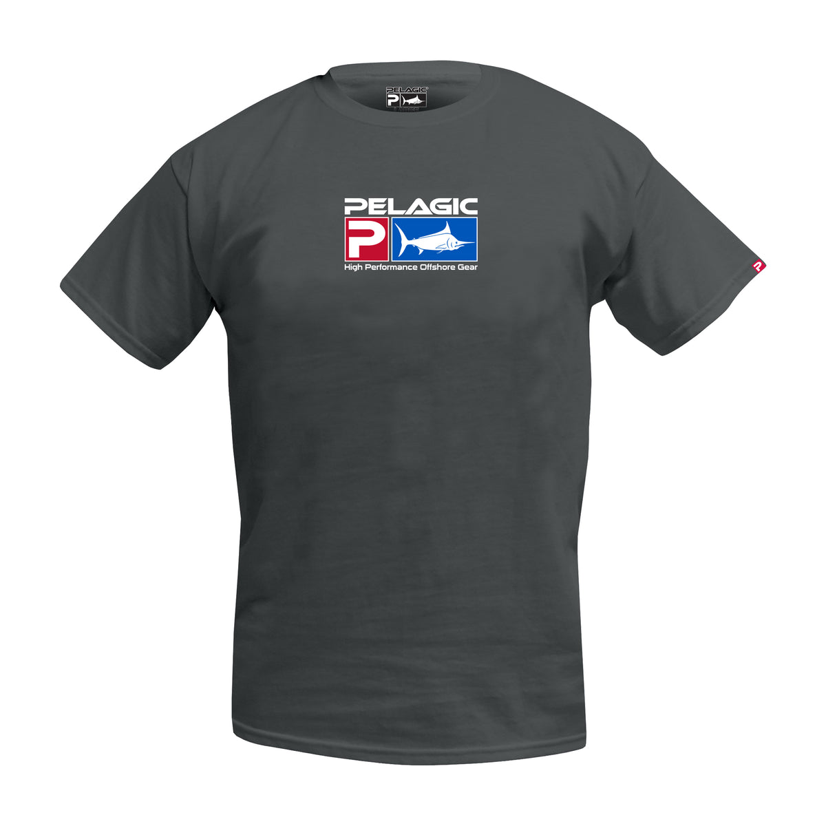Deluxe Logo Fishing T-shirt - Youth Big Image - 2