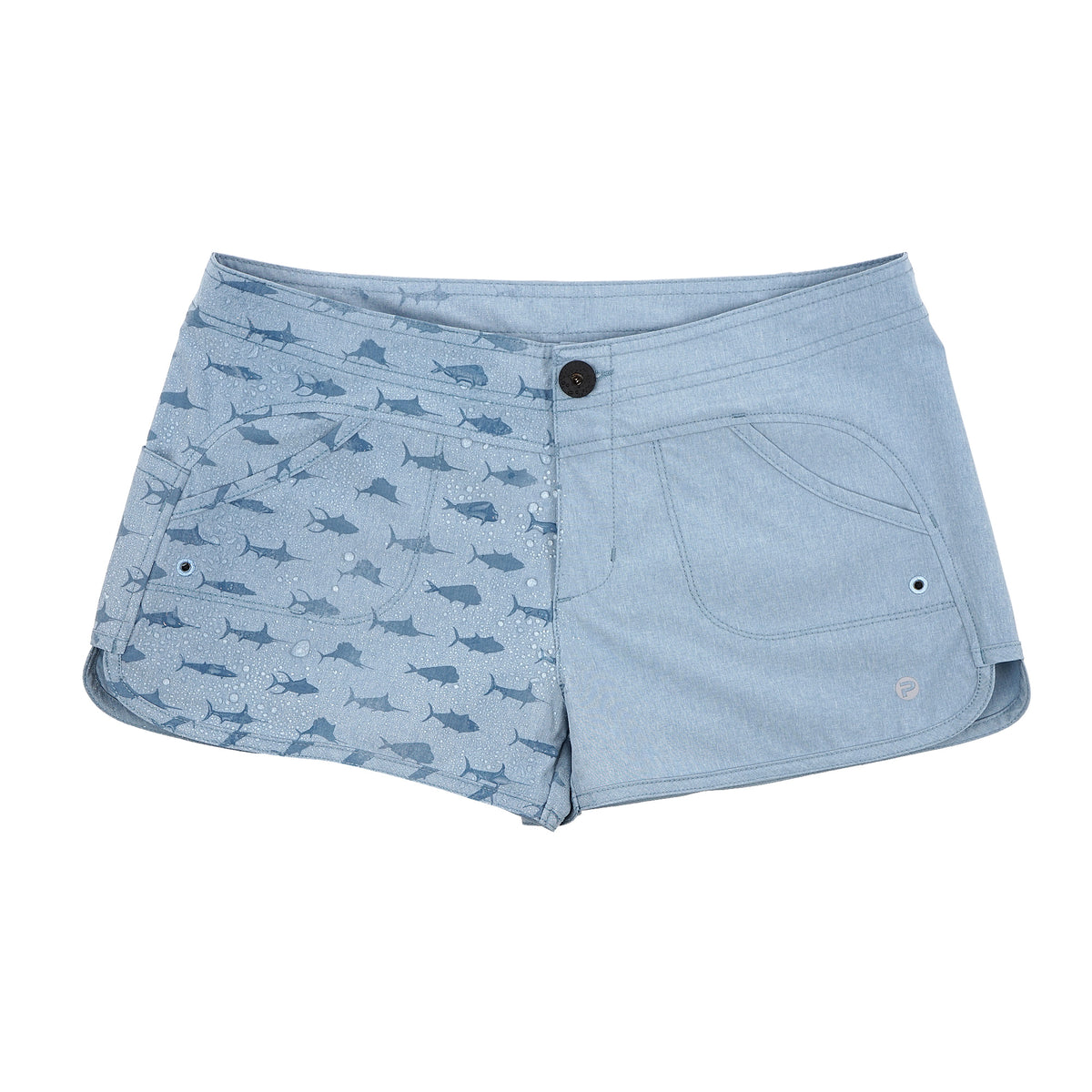 Deep Sea Hybrid Fishing Shorts - Womens Big Image - 5