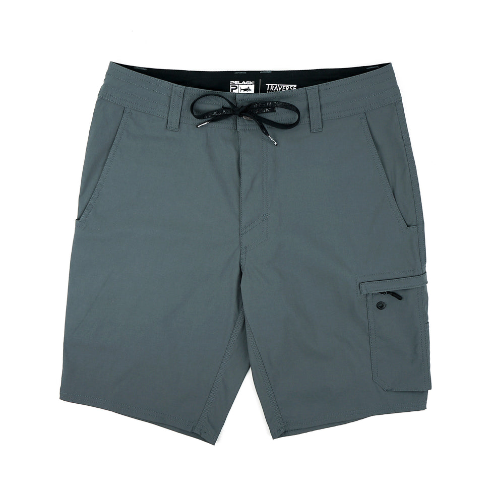 Traverse Hybrid Fishing Shorts Big Image - 1