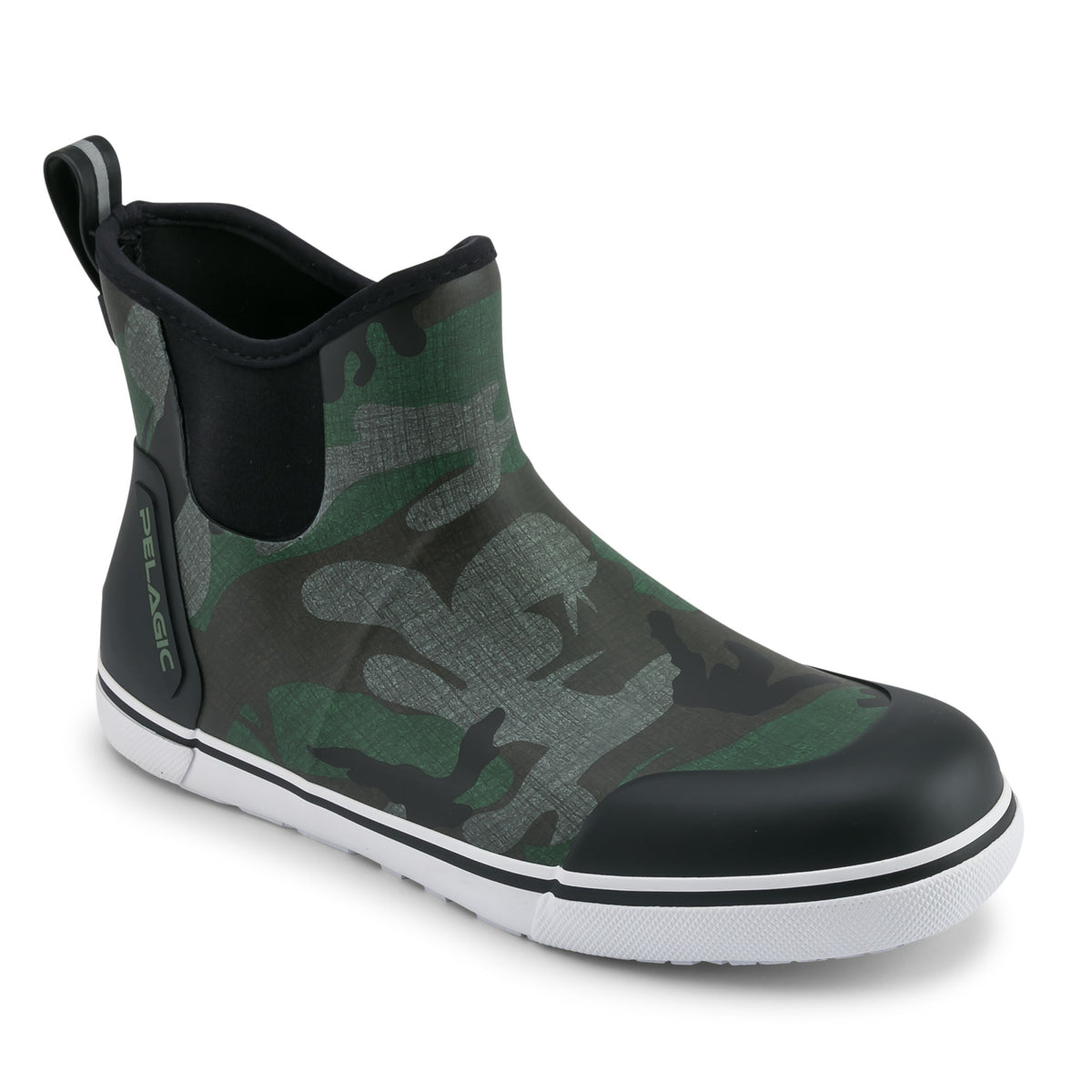 "Pursuit 6"" Deckboot-Fish Camo Green Big Image - 1"
