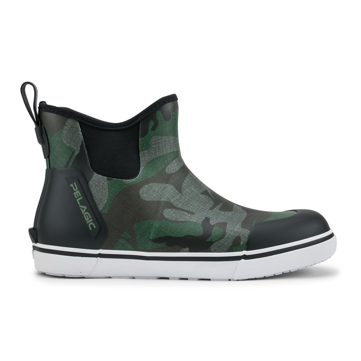 "Pursuit 6"" Deckboot-Fish Camo Green Big Image - 2"