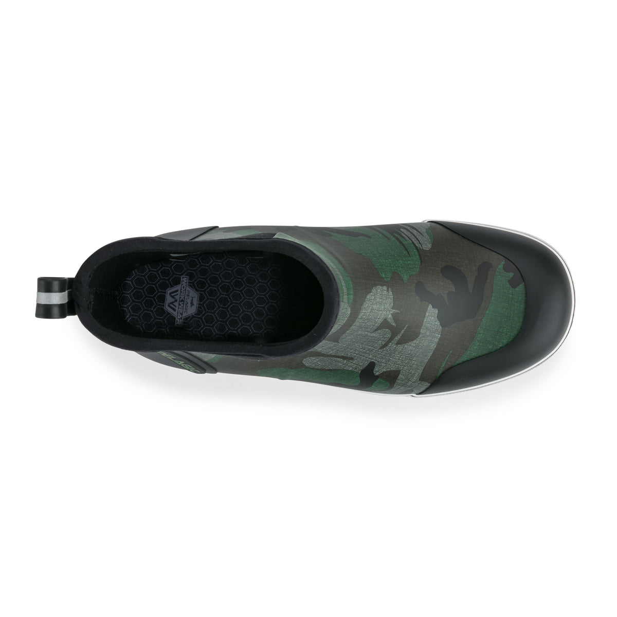 "Pursuit 6"" Deckboot-Fish Camo Green Big Image - 3"