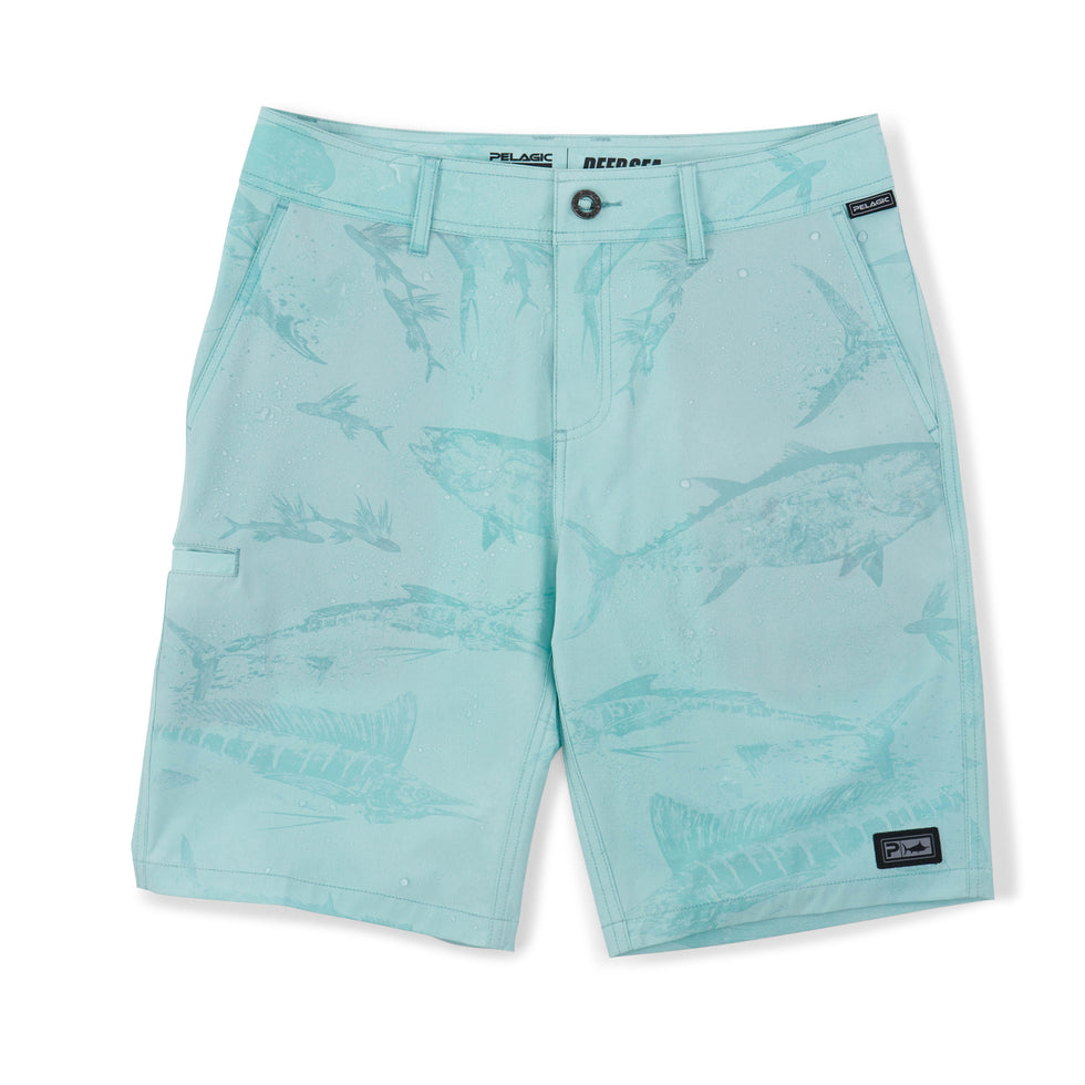 Deep Sea Hybrid Fishing Shorts - Gyotaku Youth Big Image - 2