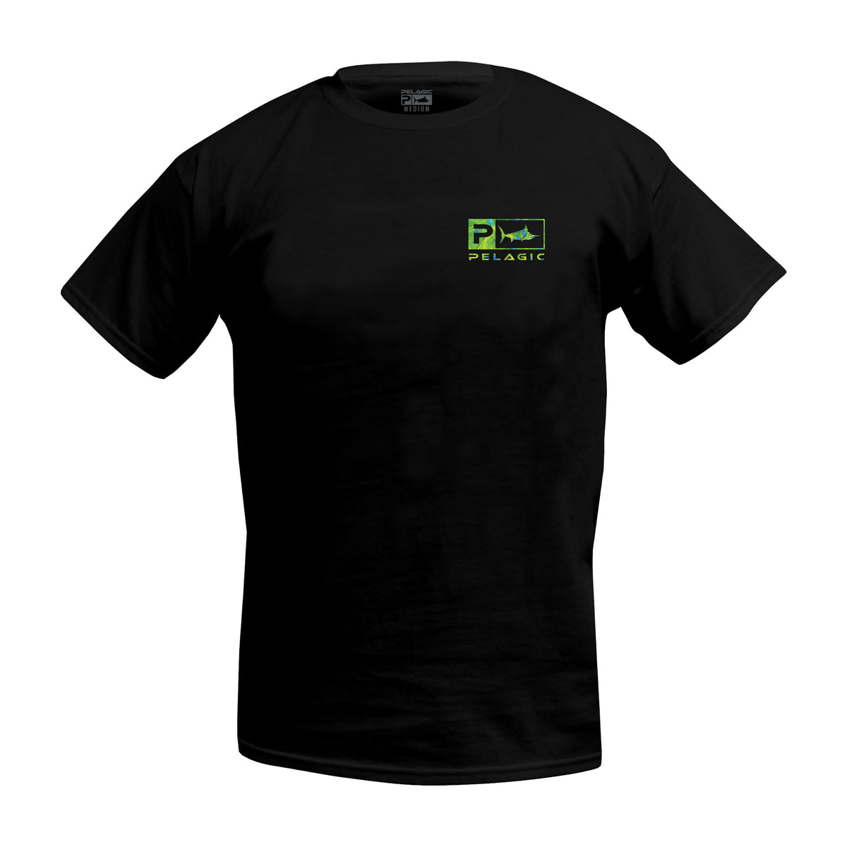 Deluxe Dorado Green T-shirt Big Image - 2