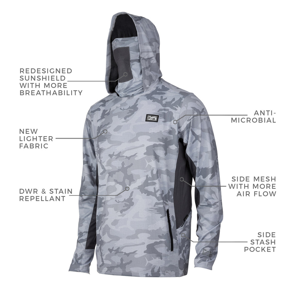 Exo-Tech Hooded Fishing Shirt Big Image - 2