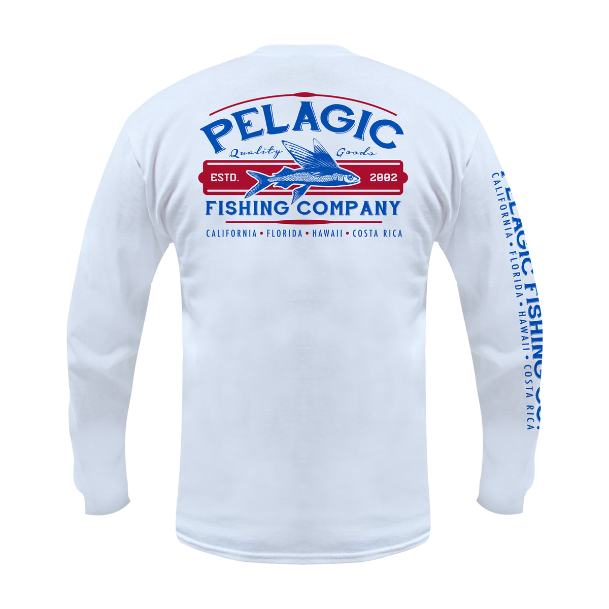 Fish Co. Long Sleeve Fishing T-shirt Big Image - 1