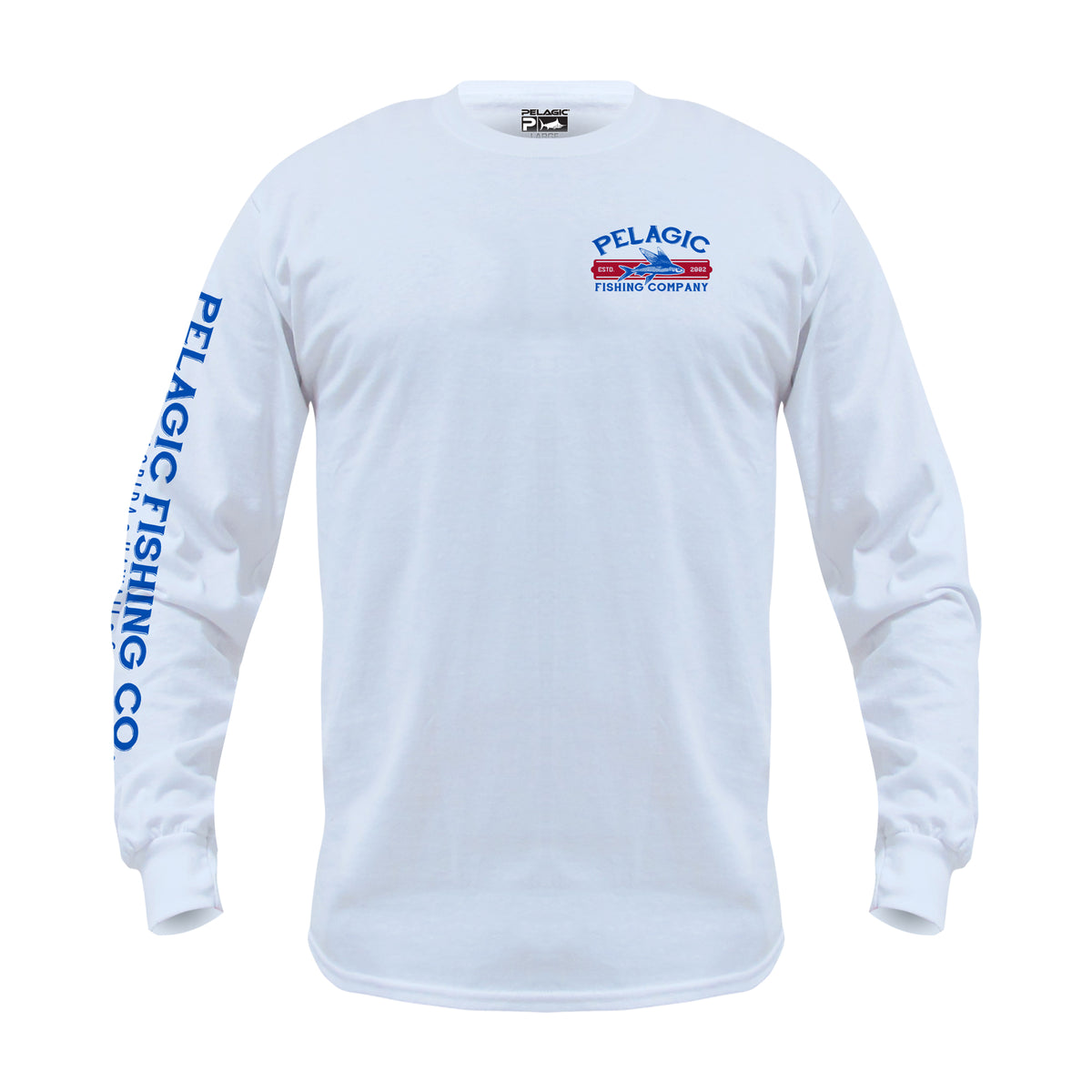 Fish Co. Long Sleeve Fishing T-shirt Big Image - 2