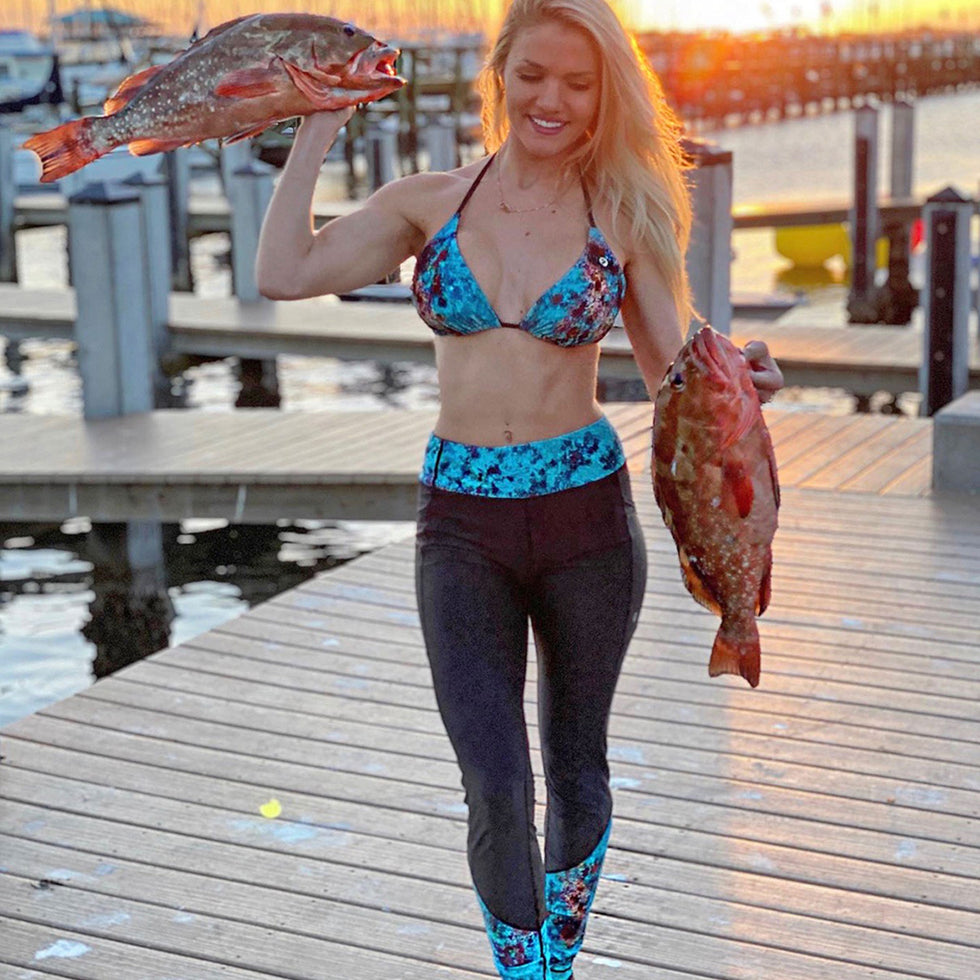 Fiji Fishing Leggings Big Image - 3