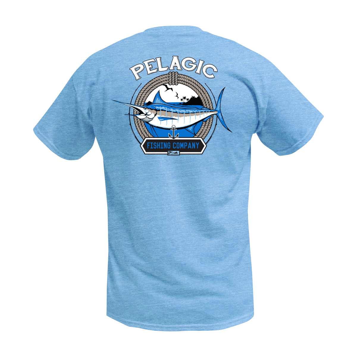 Marlin Company Fishing T-shirt Big Image - 1