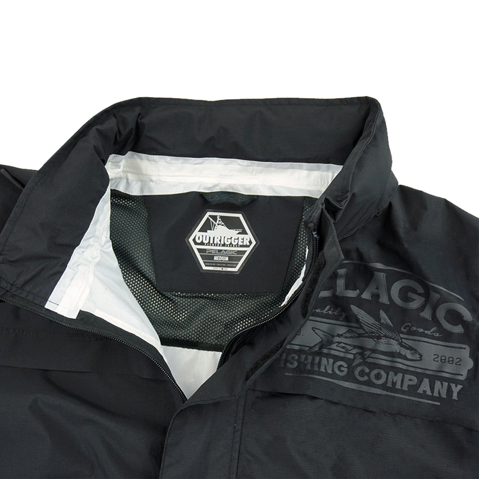 Outrigger Lightweight Rain Jacket Big Image - 8