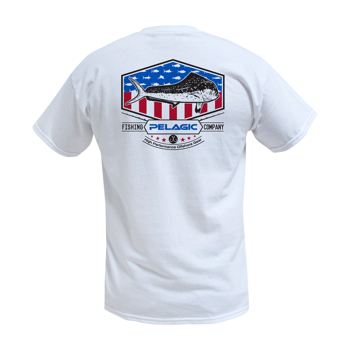 Patriot Dorado Fishing T-shirt Big Image - 1