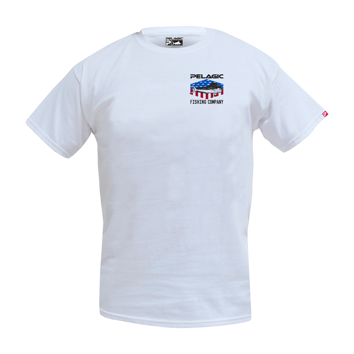 Patriot Dorado Fishing T-shirt Big Image - 2