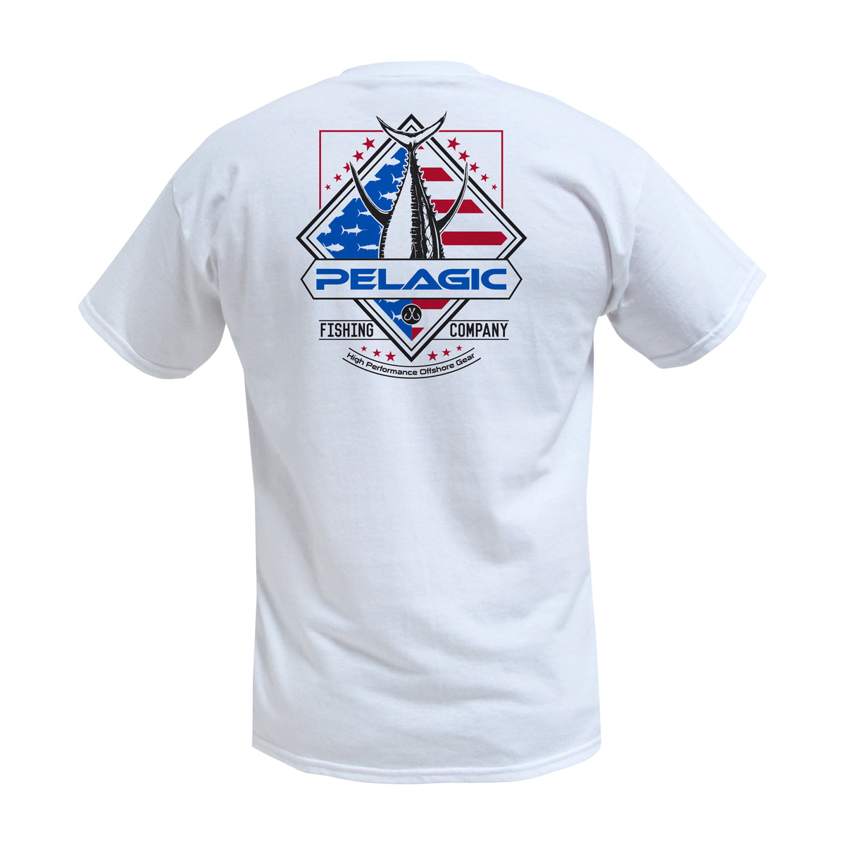 Patriot Tuna Fishing T-shirt Big Image - 1