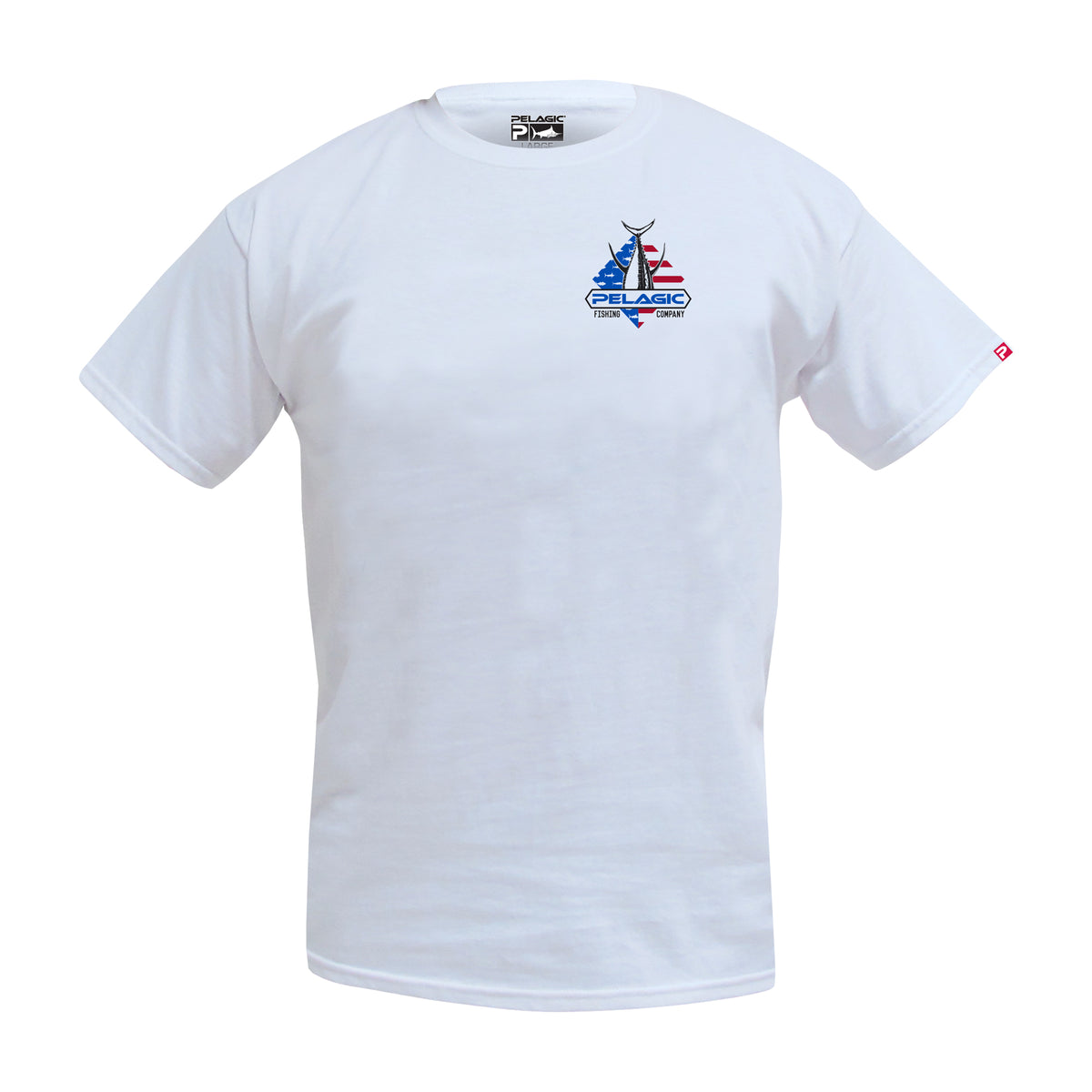 Patriot Tuna Fishing T-shirt Big Image - 2