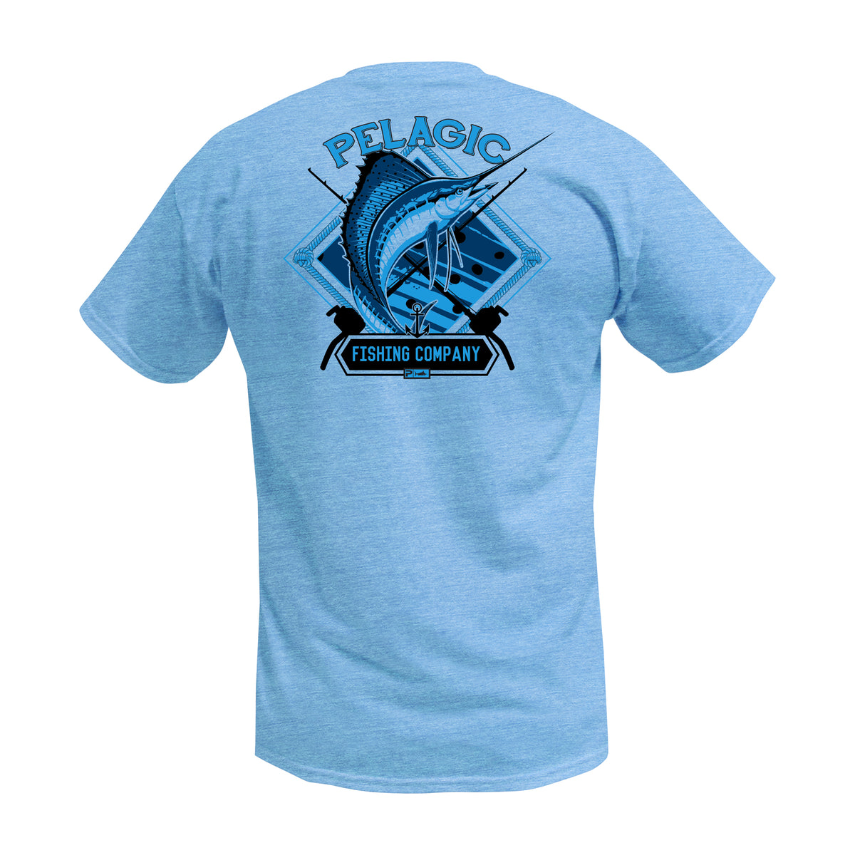 Sailfish Company Fishing T-shirts Big Image - 1