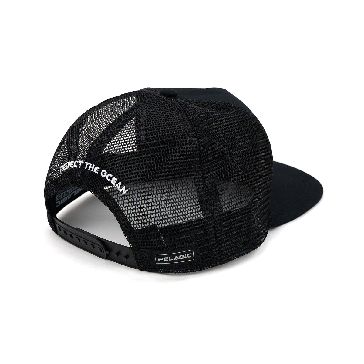 Stick Figure Snapback Black Big Image - 5