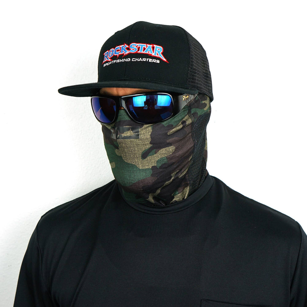 Sunshield Pro 2.0 Fishing Neck Gaiter Big Image - 4