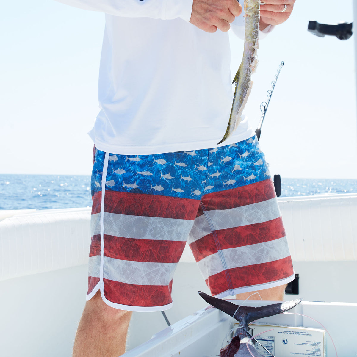 The Slide Fishing Boardshort Big Image - 9
