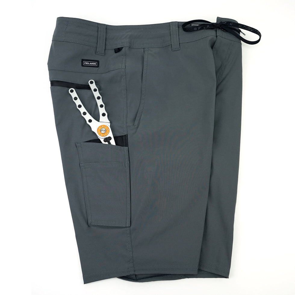 Traverse Hybrid Fishing Shorts Big Image - 4