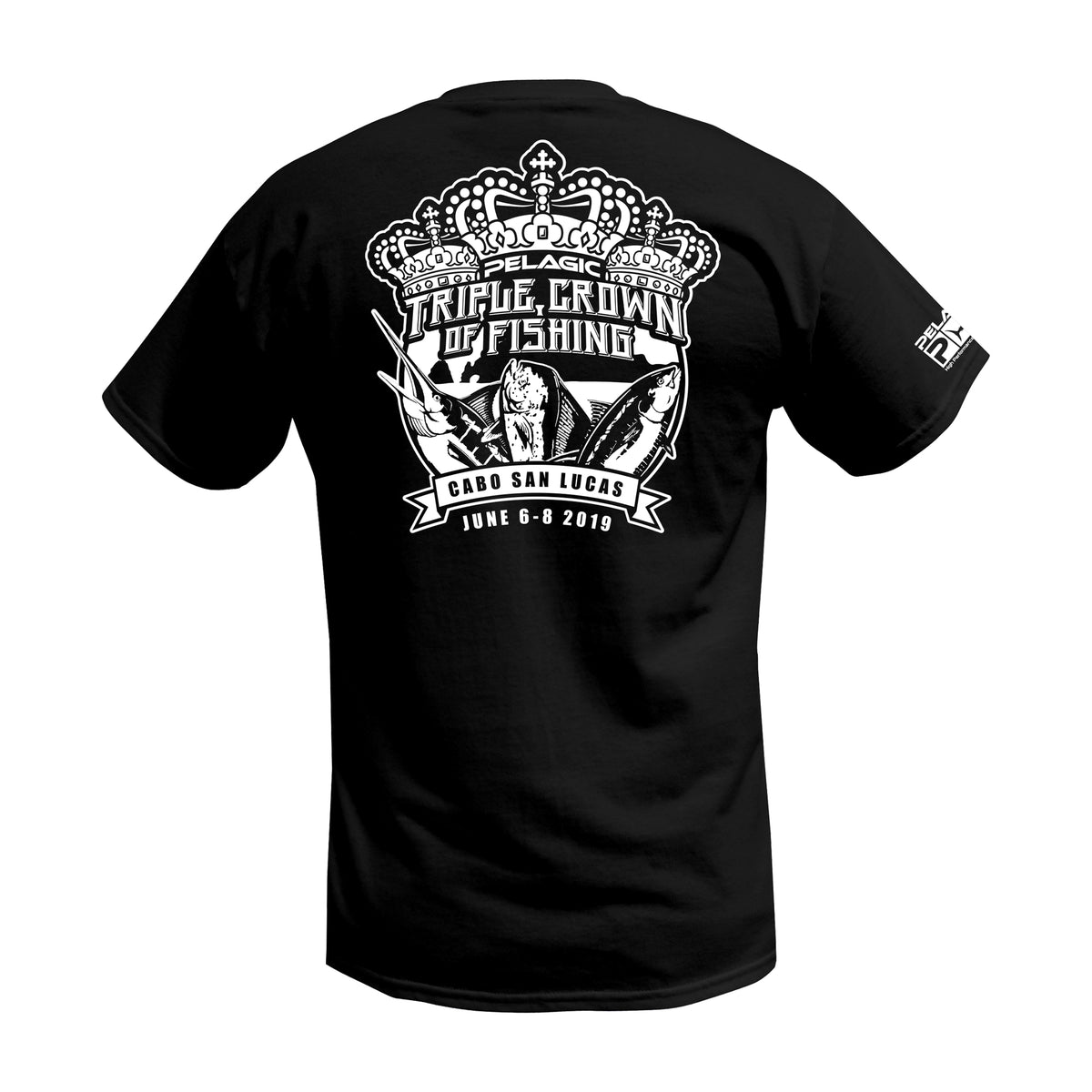 Limited Edition - 2019 Triple Crown Fishing T-shirt Big Image - 1
