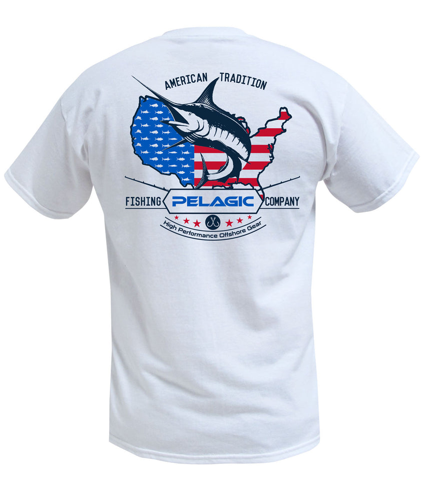 American Marlin T-Shirt - Youth Big Image - 1