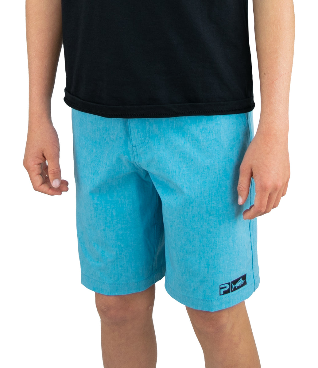 Deep Sea Hybrid Fishing Shorts - Youth Big Image - 4