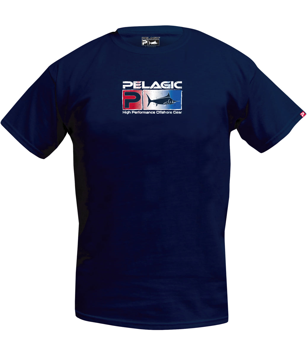 Deluxe USA Fade T-Shirt Big Image - 2