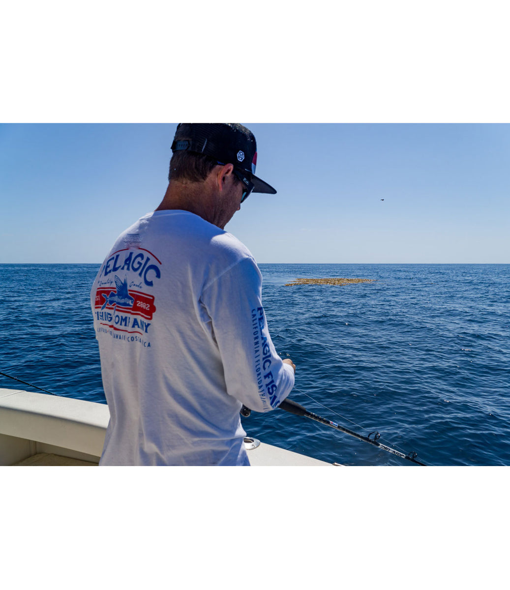 Fish Co. Long Sleeve Fishing T-shirt Big Image - 3