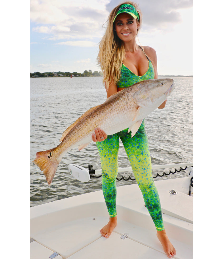 Maui Fishing Leggings Big Image - 3