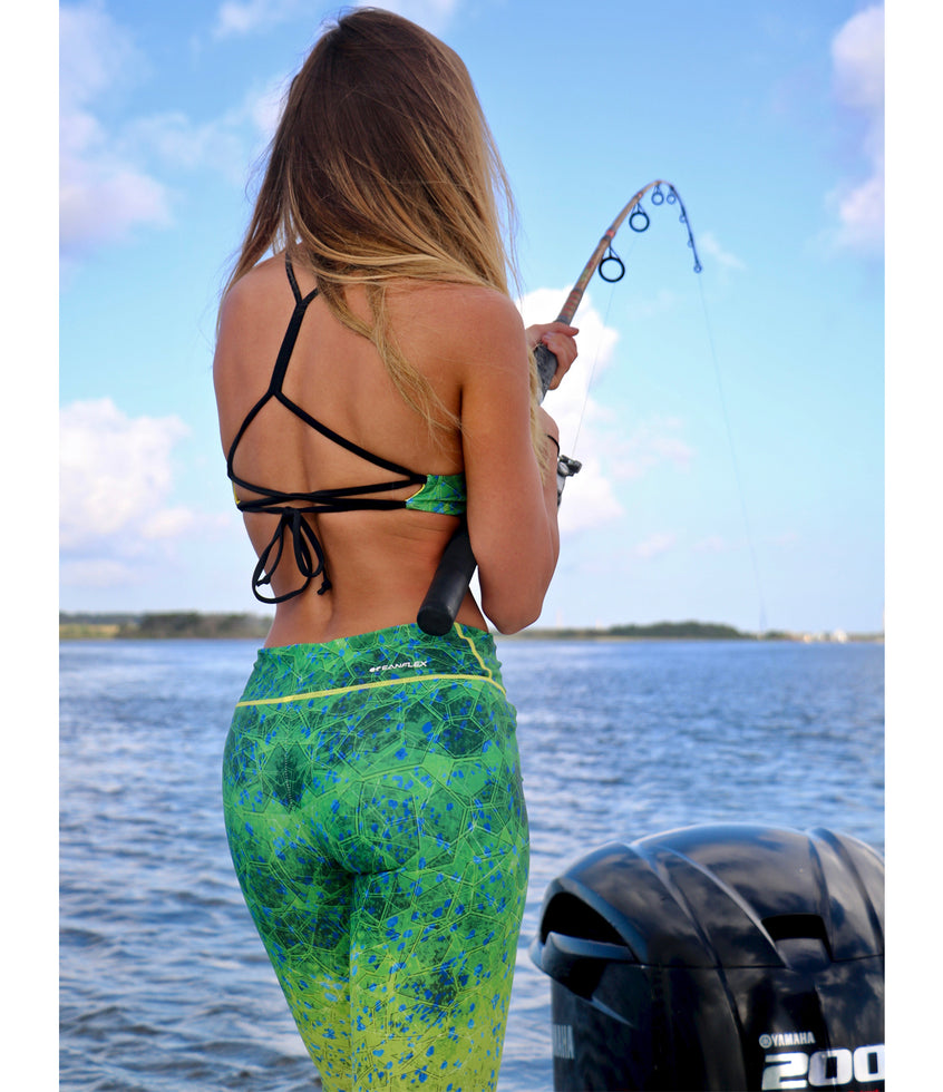Maui Fishing Leggings Big Image - 4