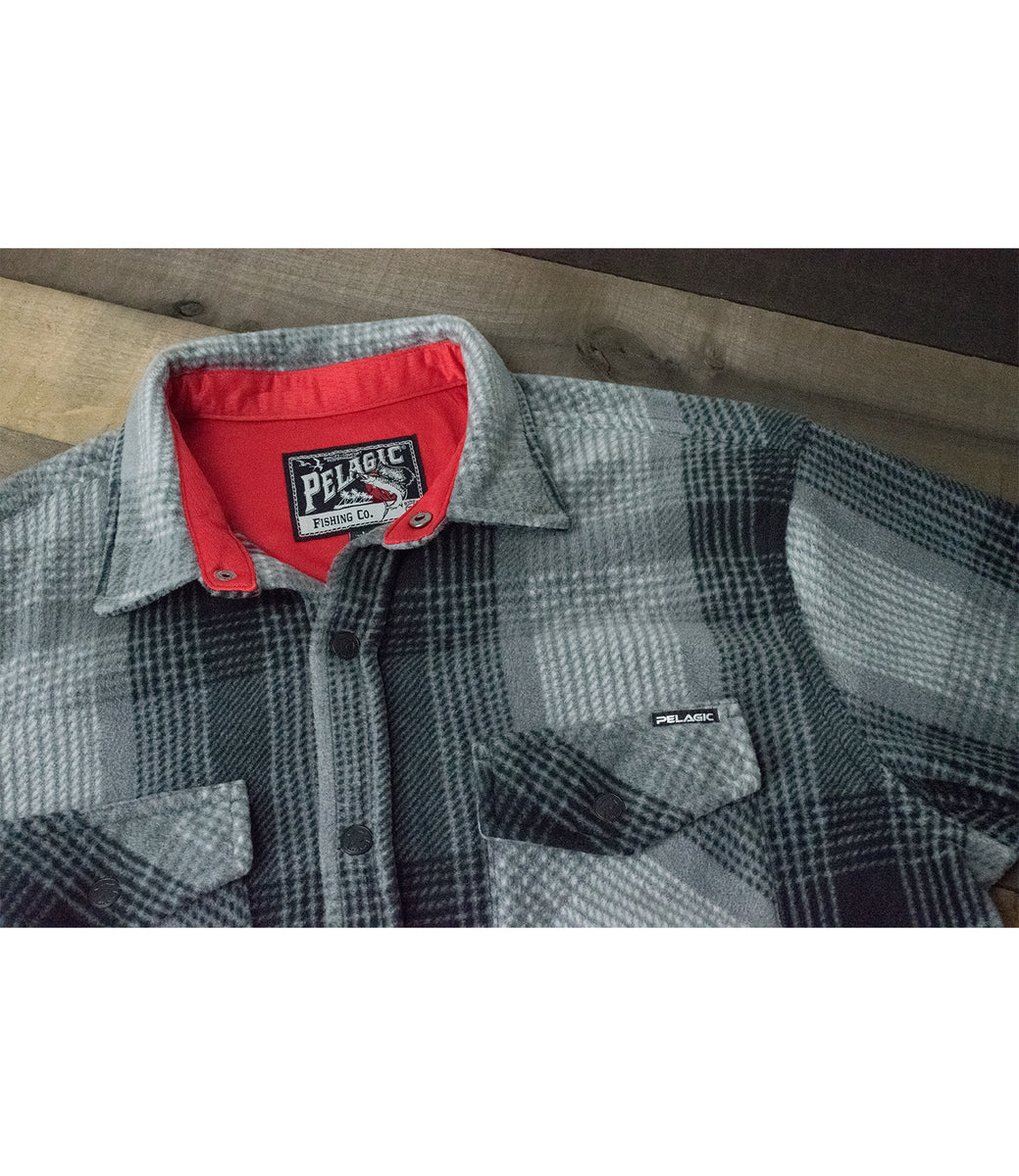 Quest Performance Flannel - Grey Big Image - 3