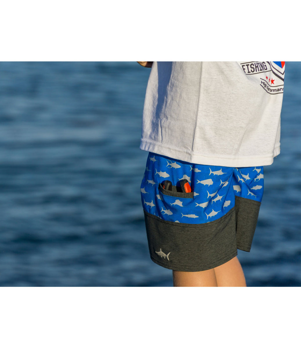 Ridgemont Fishing Boardshort - Youth Big Image - 3