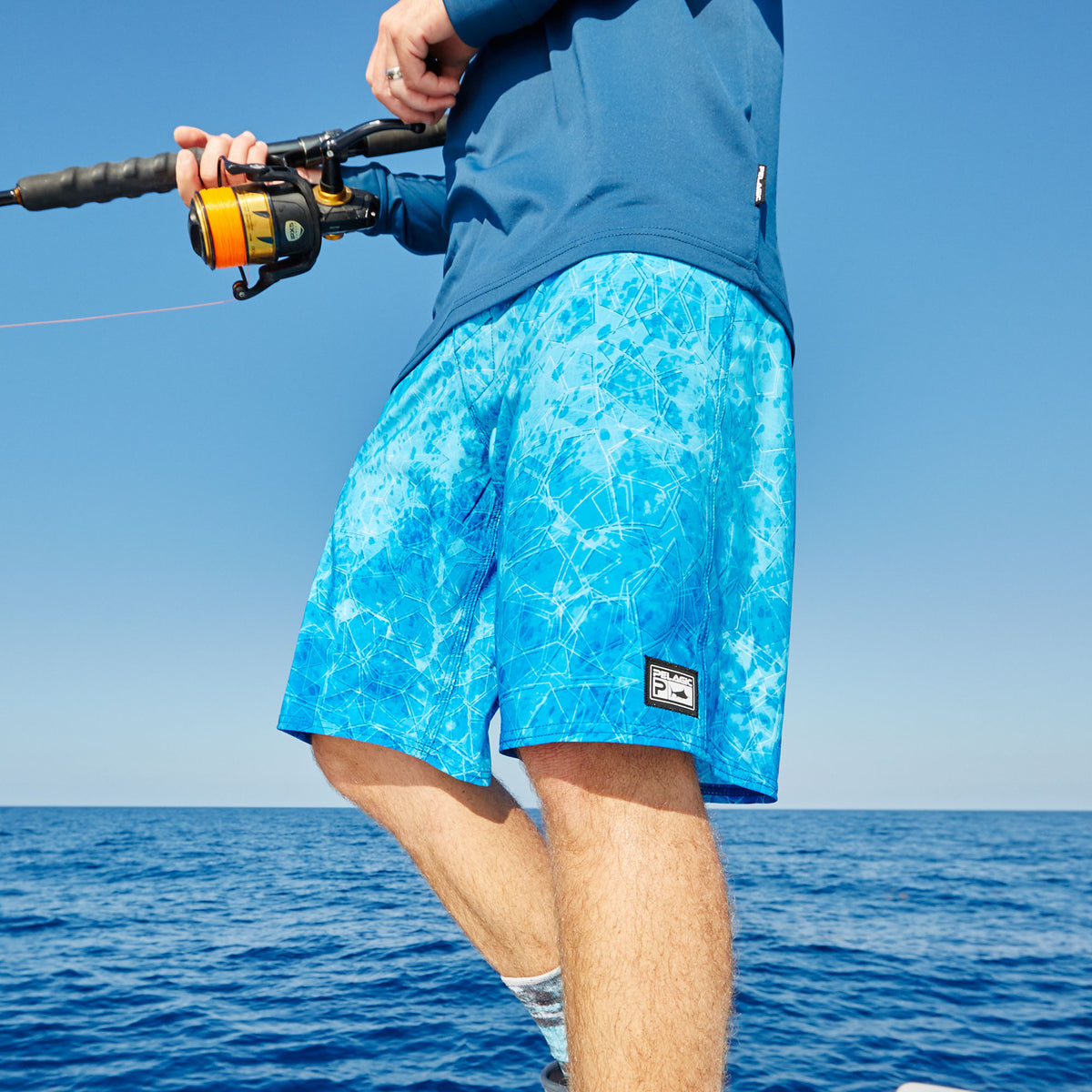 The Slide Fishing Boardshort Big Image - 7