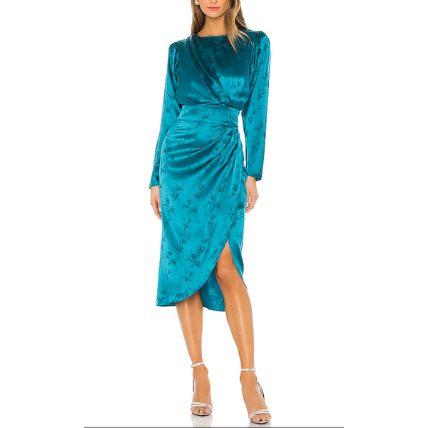 Teal Jade Dress Ronny Kobo