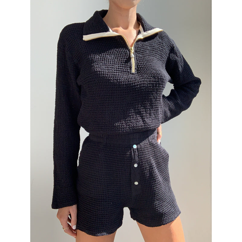 Waffle Pullover | Women's Clothing Boutique