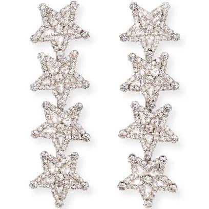 Straight Star Earrings