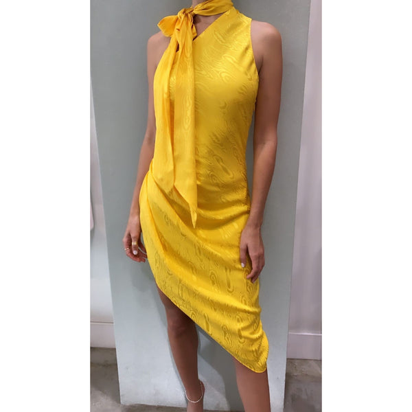 Zoey Dress Lemon | Women's Clothing Boutique